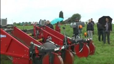 Tolmac MT 14-75 frontrooier demo in Weuthen